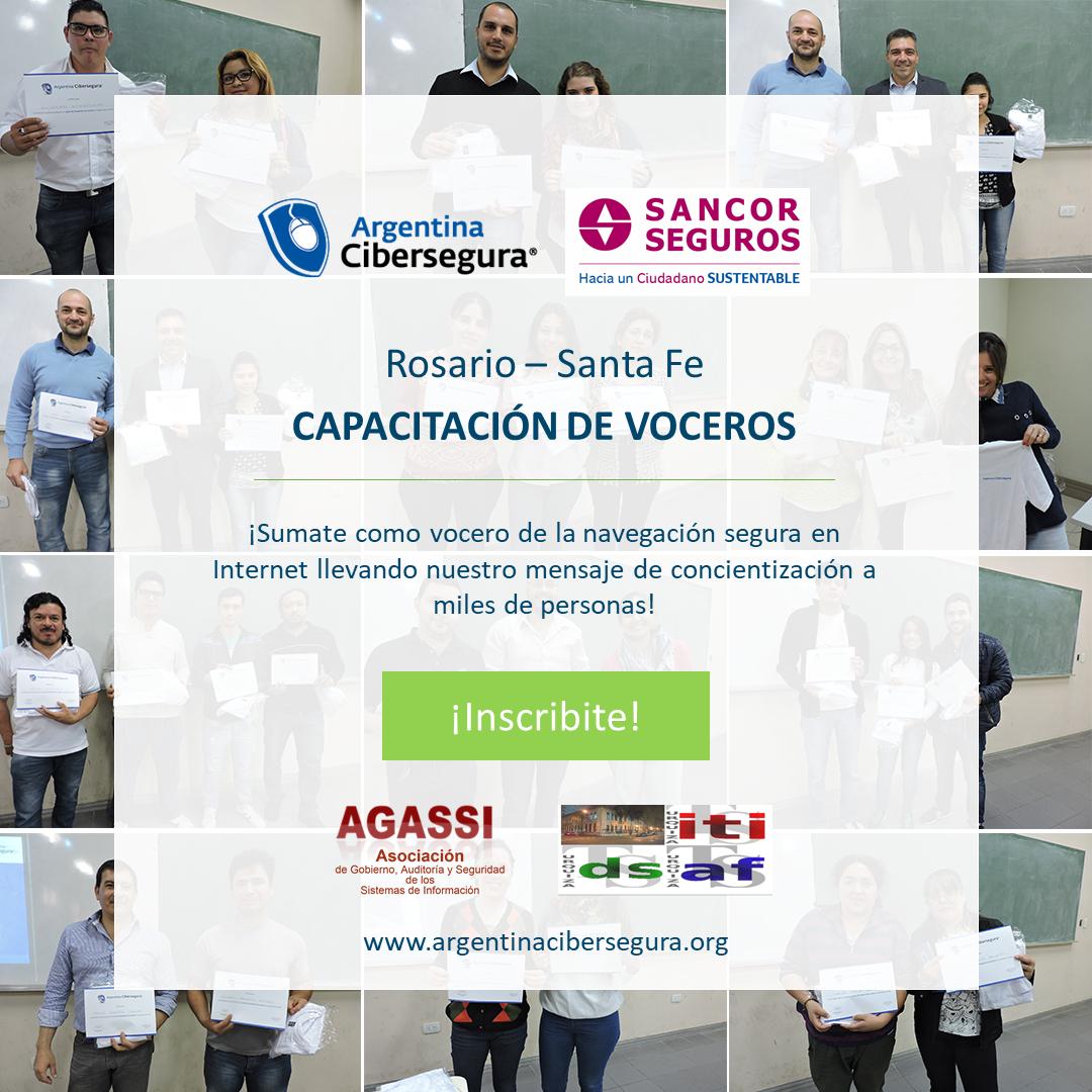 Capacitación Voceros 2019 – Argentina Cibersegura